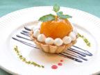 【6月限定!】季節のケーキ「びわのレアチーズタルト」