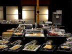 游月山荘「レストラン月の座」9月3日からビュッフェ再開